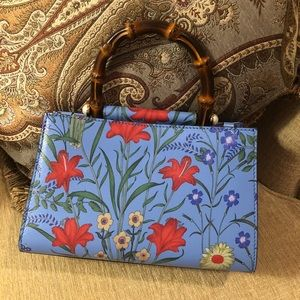 1d6a04cb3 Gucci Bags | Nwt Nymphaea New Flora Top Handle Bag Mini | Poshmark